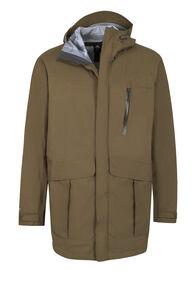 Macpac Copland Long Rain Jacket — Men's, Military Olive, hi-res