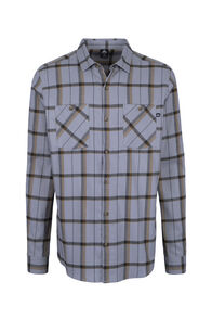 Macpac Porters Flannel Shirt — Men's, High Rise/Breen, hi-res