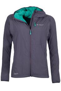 Macpac Pisa Polartec® Alpha® Fleece Jacket - Women's, Asphalt/Arcadia, hi-res