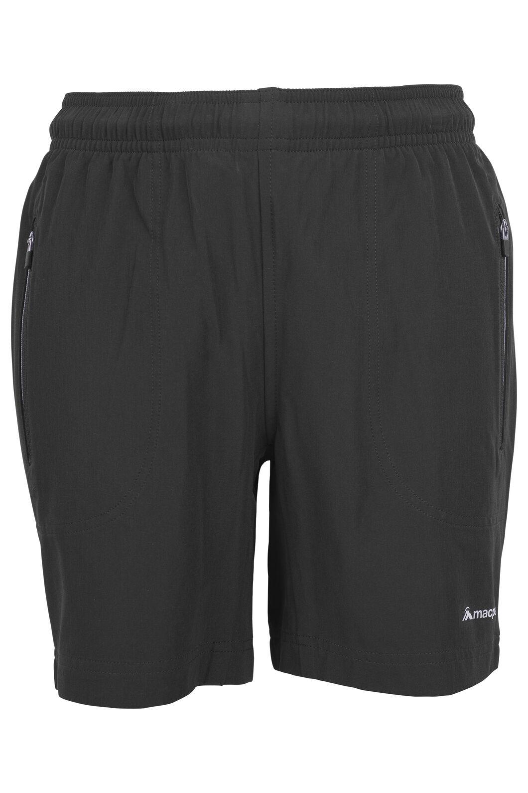 Macpac Fast Track Shorts - Kids', Black, hi-res