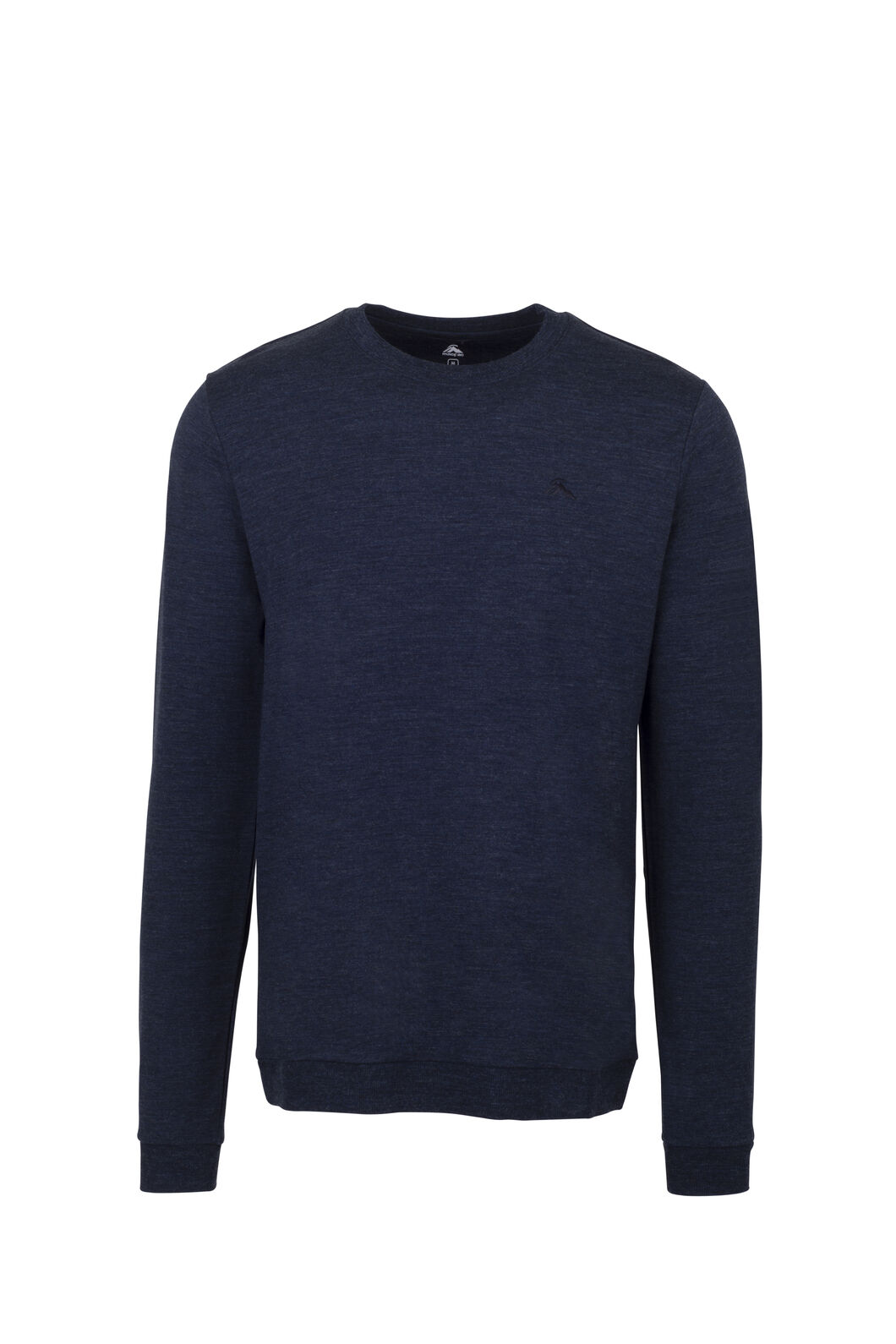 Macpac 280 Merino Long Sleeve Crew - Men's, Carbon Marle, hi-res