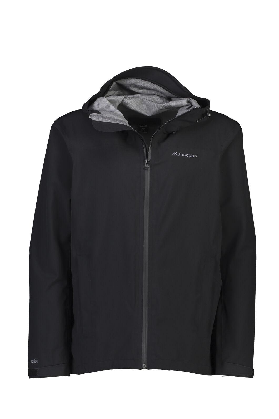Macpac Men's Dispatch Rain Jacket, Black, hi-res