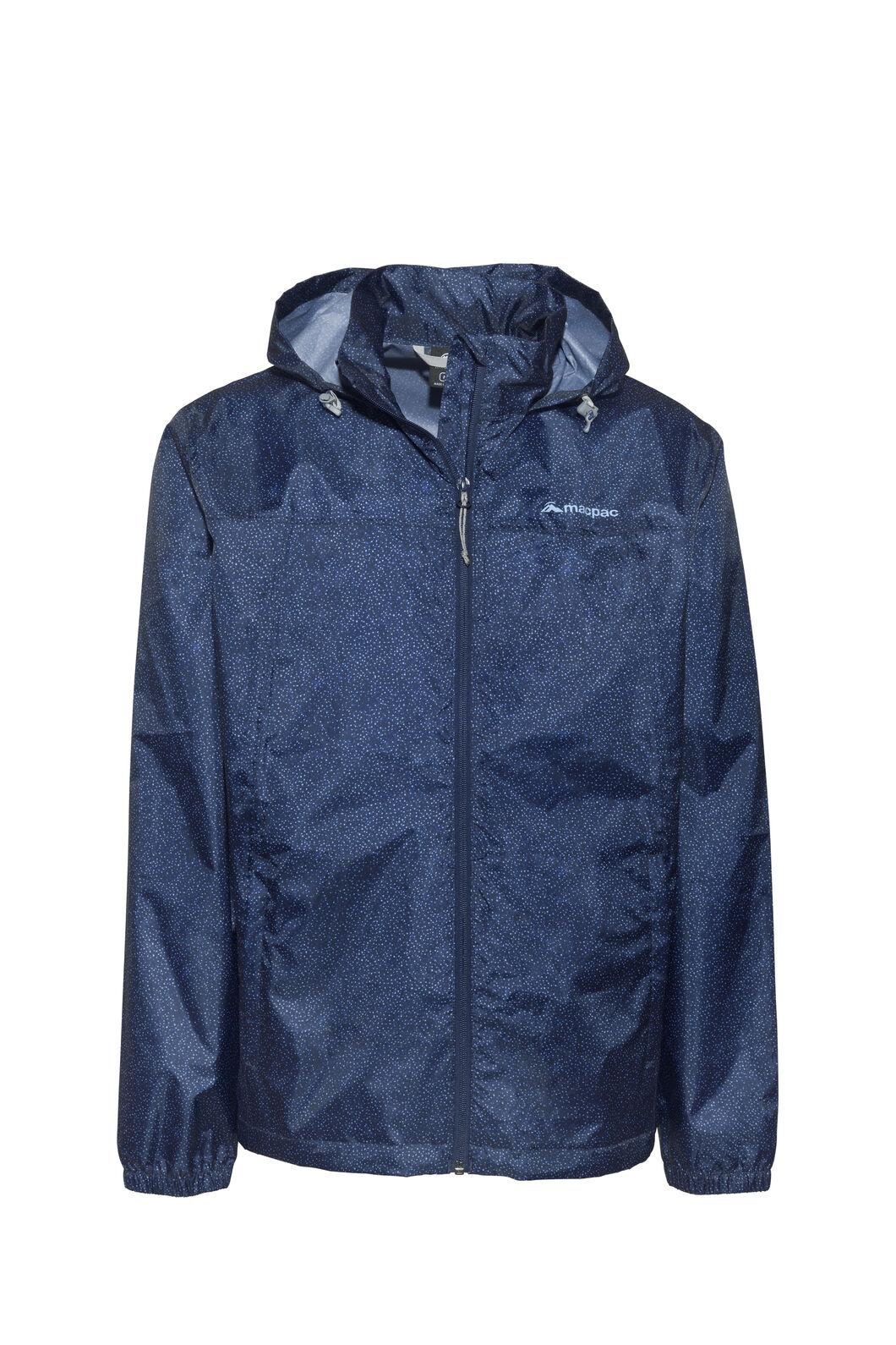 Macpac Pack-It-Jacket — Unisex, Blueprint Speckle Print, hi-res