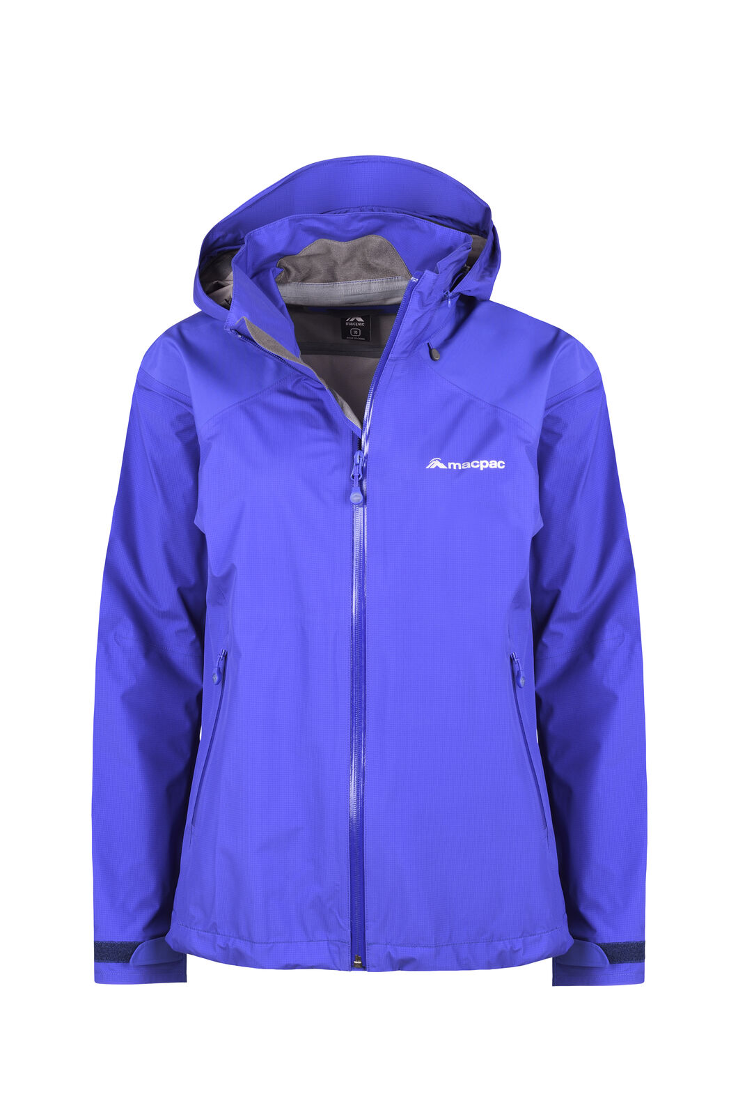 Macpac Traverse Pertex® Rain Jacket - Women's, Clematis Blue, hi-res