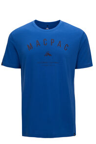 Macpac 180 Merino Tee — Men's, Classic Blue, hi-res