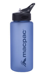 Flip Top Drink Bottle 850mL, Methyl/Dark Blue, hi-res