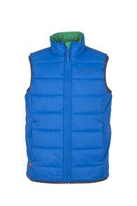 Macpac Pulsar Alpha PrimaLoft® Vest - Kids', Directoire/Print, hi-res