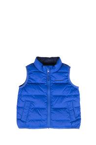 Macpac Atom Down Vest — Baby, Nautical Blue, hi-res