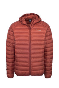 Macpac Uber Hooded Down Jacket — Men's, Burnt Henna, hi-res