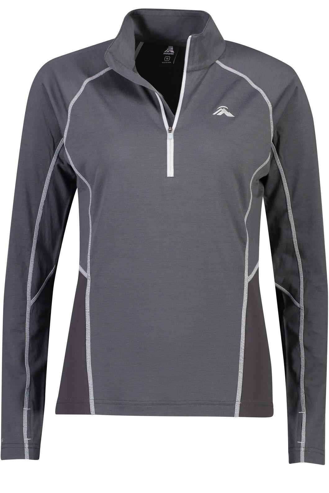 Casswell Long Sleeve Shirt - Women's, Asphalt, hi-res