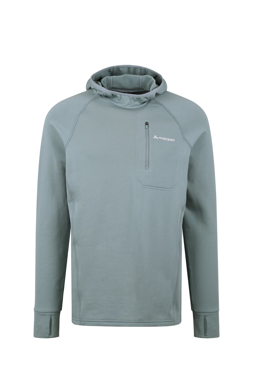 Macpac Traction Pontetorto® Pullover Hoody - Men's, Stormy Sea, hi-res