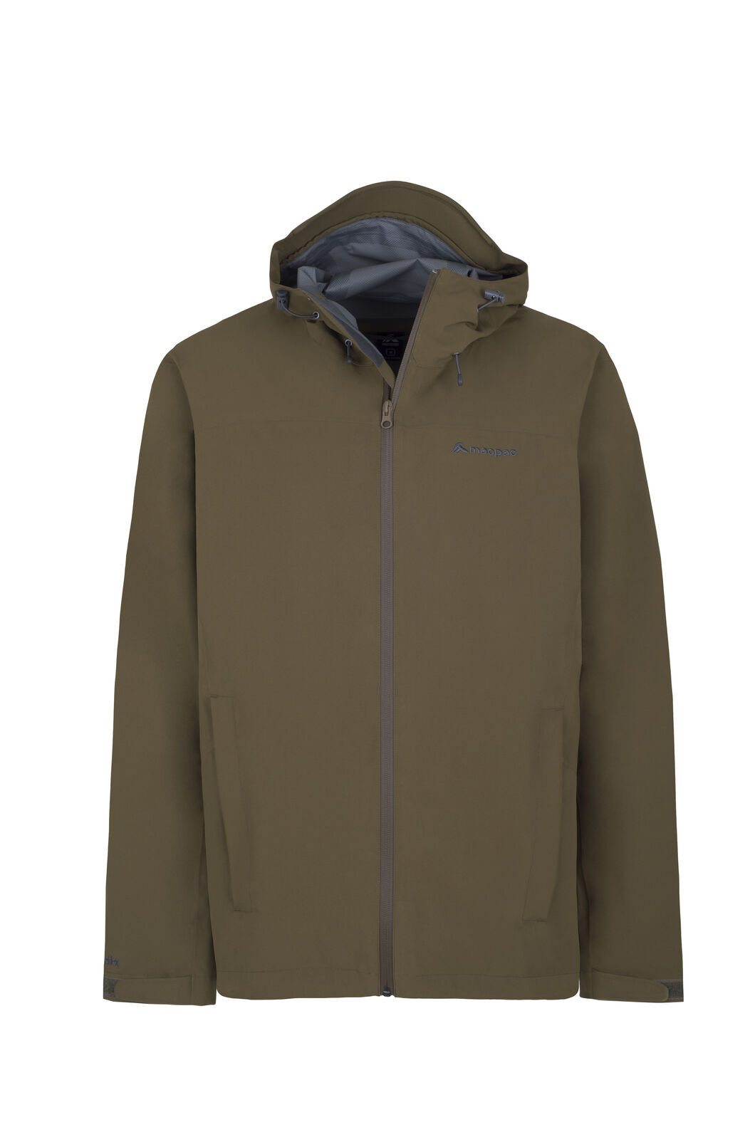 Macpac Dispatch Rain Jacket - Men's, Military Olive, hi-res