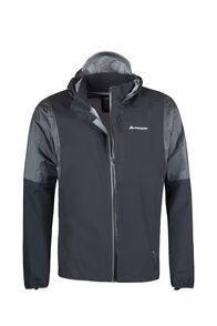 Macpac Transition Pertex® Rain Jacket — Men's, Black, hi-res