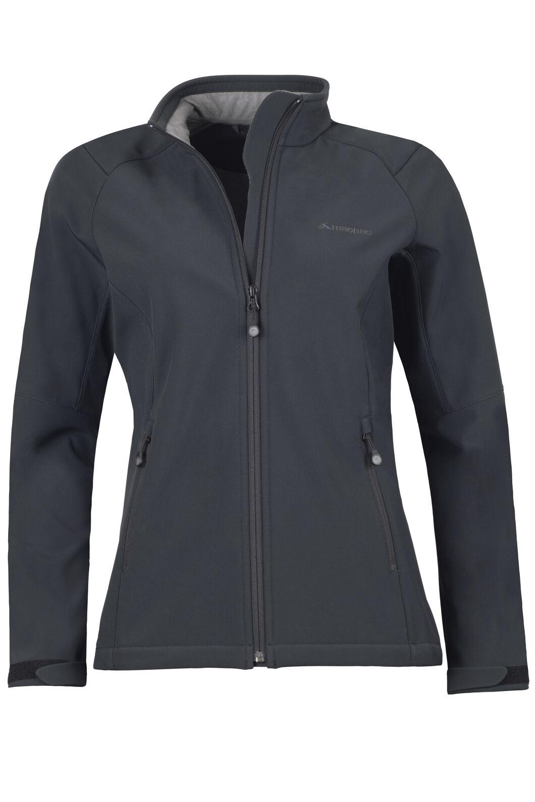 Sabre Softshell Jacket - Women's, Black, hi-res