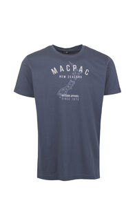 Macpac Outdoor Apparel Organic Tee — Men's, Mood Indigo, hi-res