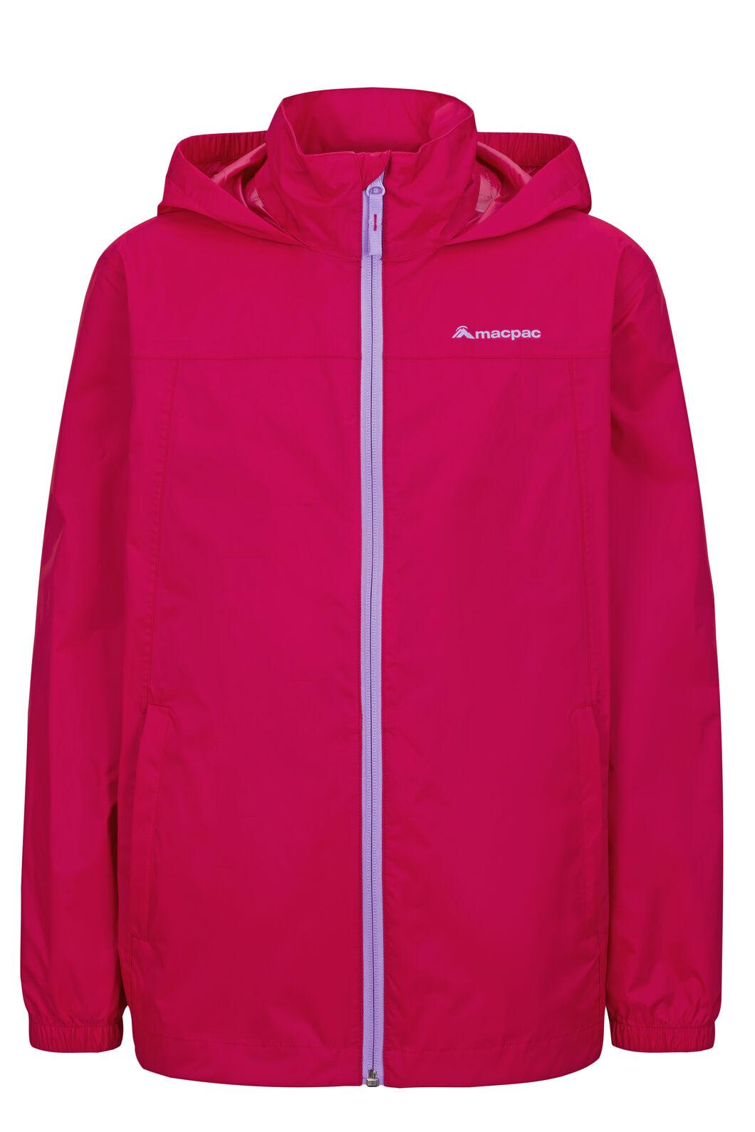 Macpac Pack-It-Jacket — Kids', Raspberry Wine, hi-res