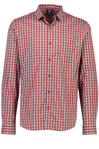 Macpac Crossroad Long Sleeve Shirt - Men's, Sundried Tomato, hi-res