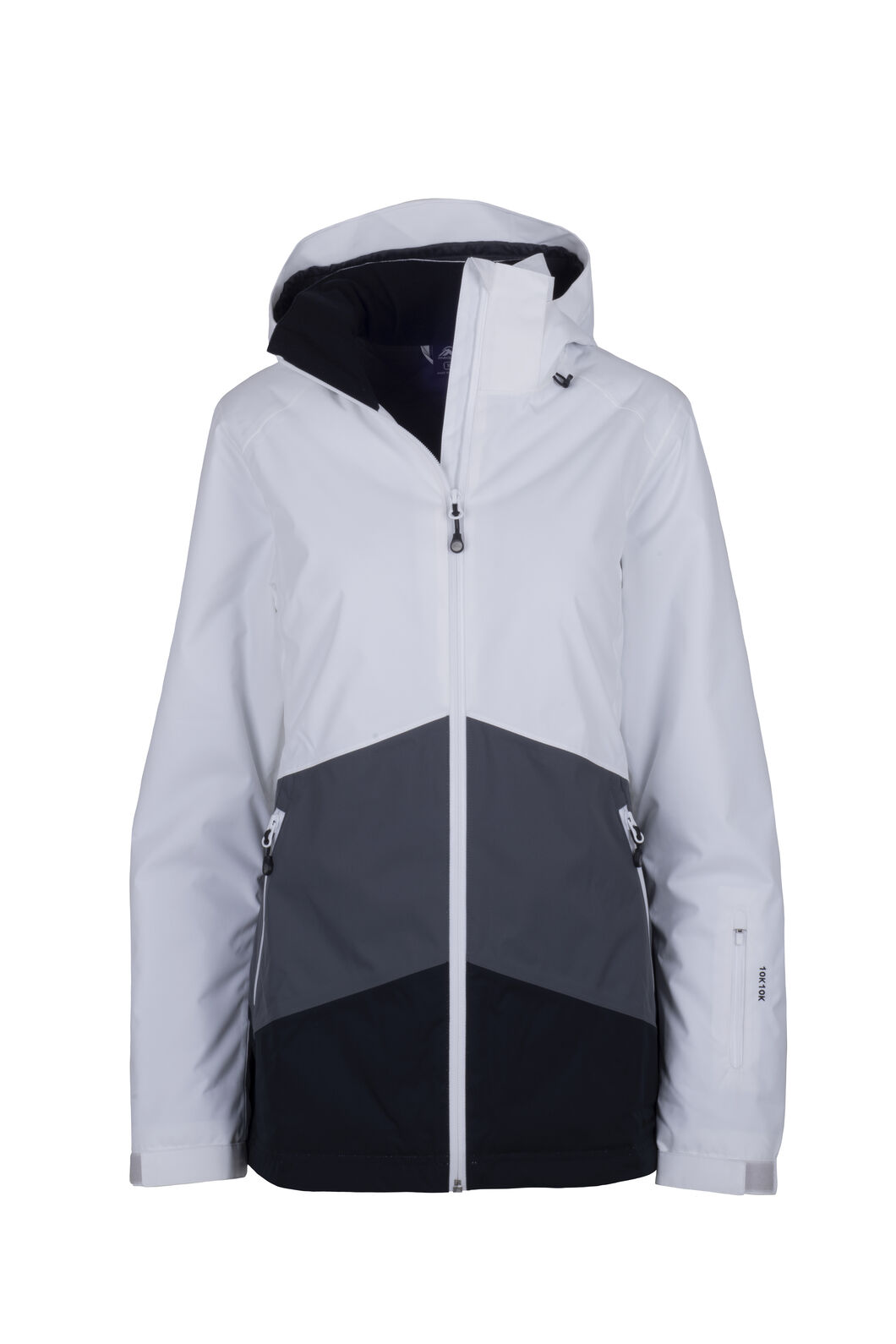 Macpac Slope Jacket - Women's, Iron Gate/White, hi-res