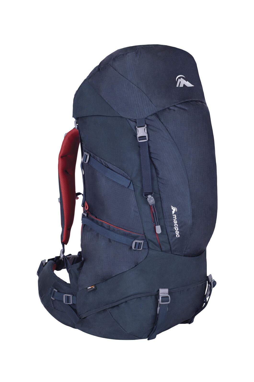 Macpac Torlesse 50L Hiking Pack, Carbon, hi-res