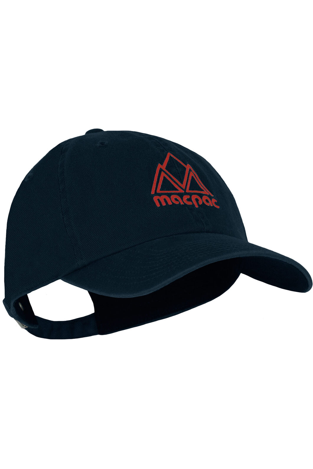 Macpac Vintage Cap, Black Iris/Scarlet Sage, hi-res