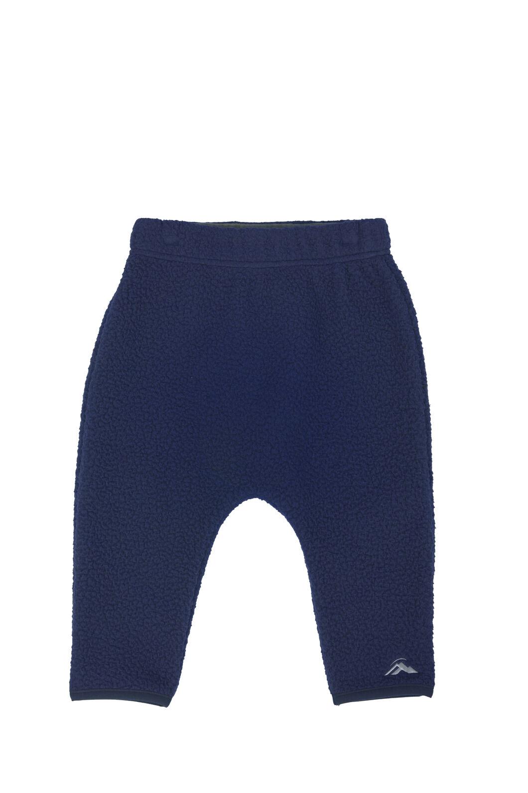 Macpac Acorn Fleece Pants - Baby, Medieval Blue, hi-res
