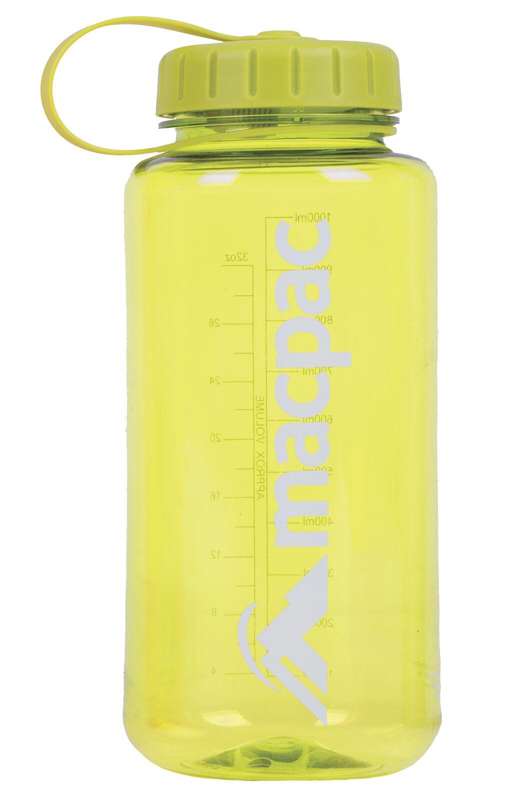 Macpac Drink Bottle 1L, Lime, hi-res