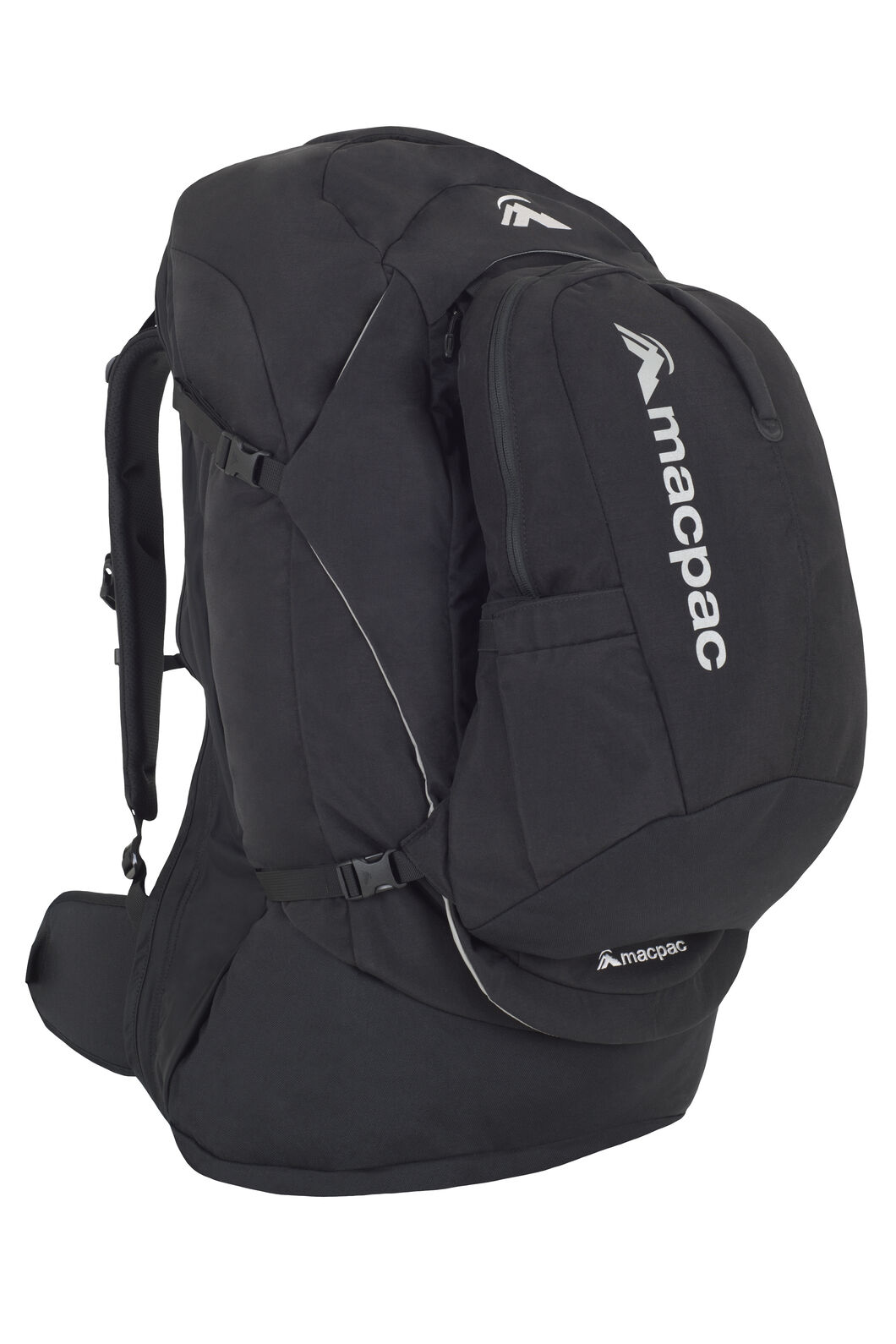 Pegasus 70L Pack, Black/Black, hi-res