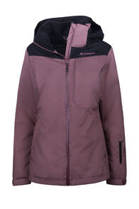 Macpac Powder Reflex™ Ski Jacket — Women's, Rose Brown/Black, hi-res