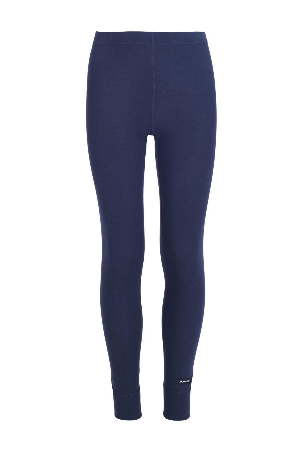 Macpac Kids' Geothermal Pants, Black Iris, hi-res