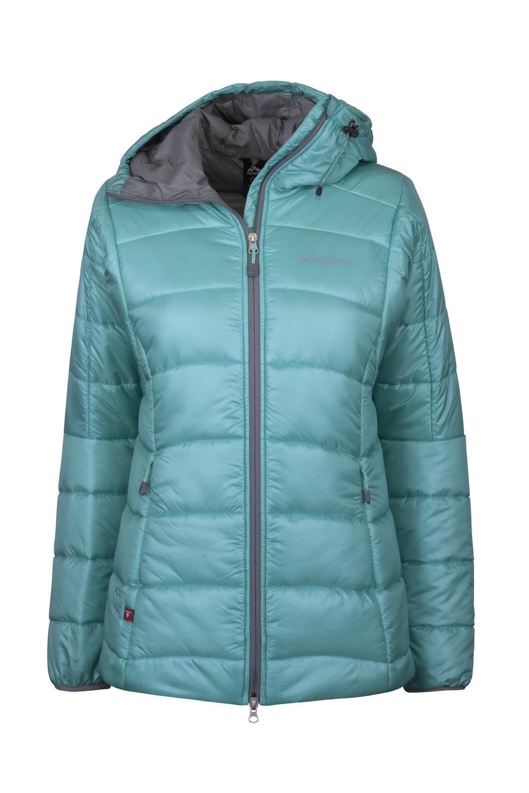 Macpac Pulsar Plus PrimaLoft® Hooded Jacket — Women's, Turquoise, hi-res