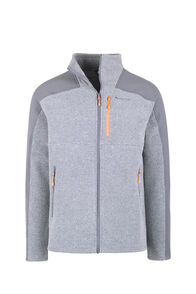 Macpac Dunstan Fleece - Men's, Monument/Asphalt, hi-res