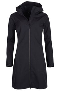 Macpac Chord Softshell Coat - Women's, Black, hi-res