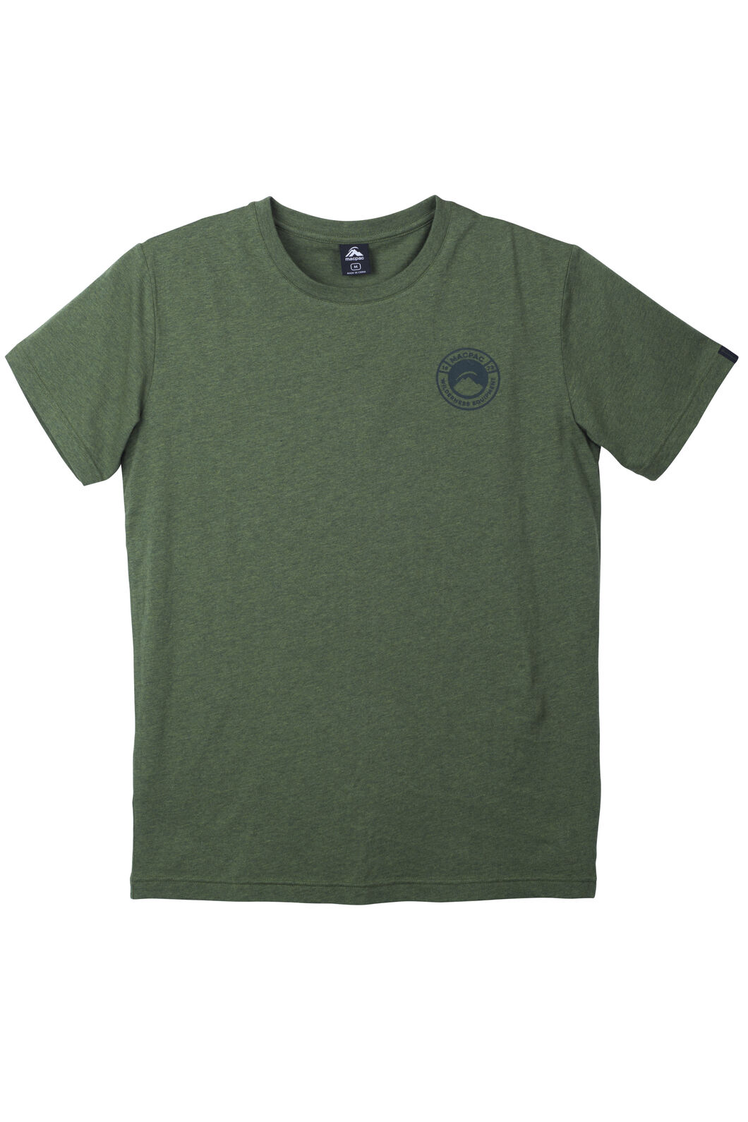 Gradient Organic Cotton Tee - Men's, Rifle Melange, hi-res