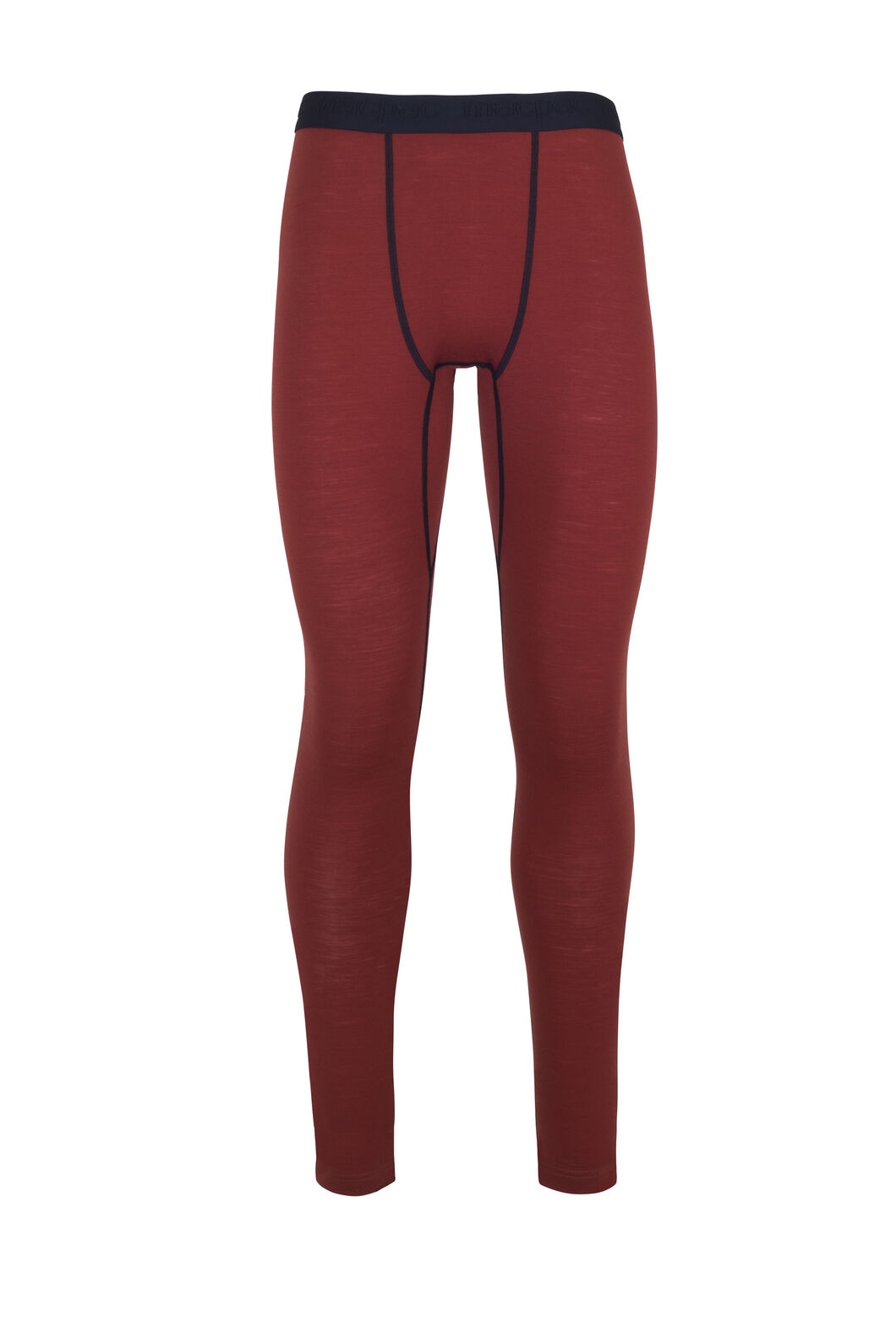 Macpac 180 Merino Long Johns - Men's, Red Ochre, hi-res