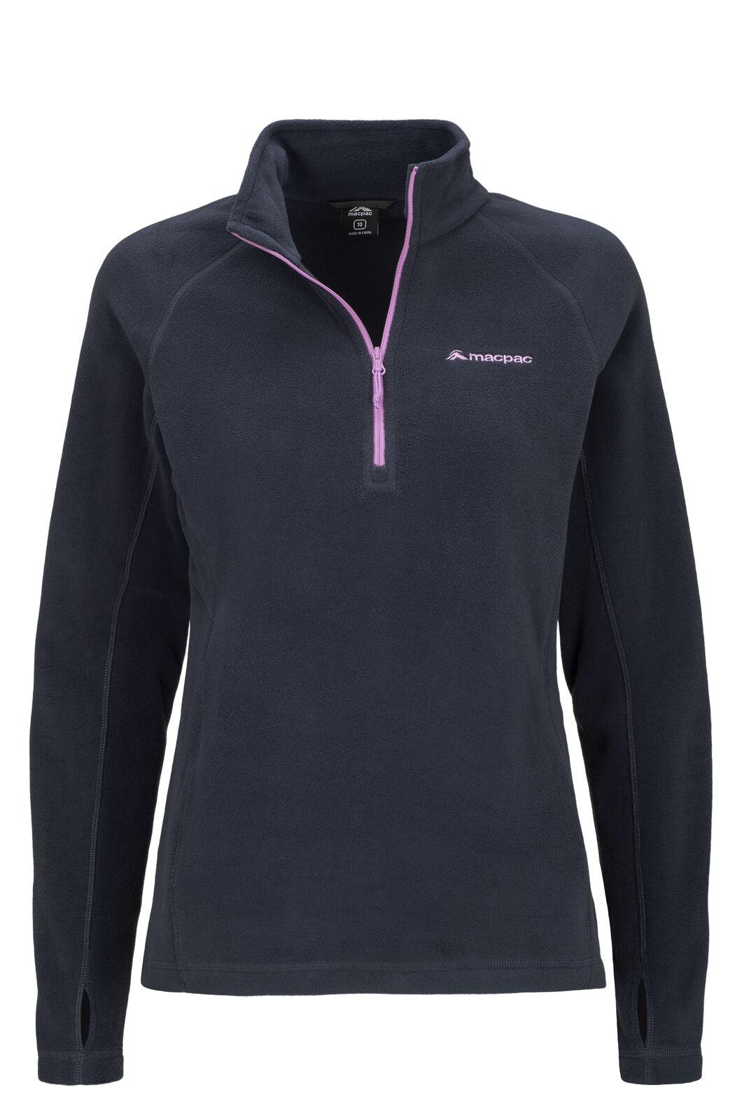 Macpac Tui Polartec® Micro Fleece® Pullover — Women's, Total Eclipse, hi-res