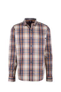 Macpac Crossroad Long Sleeve Shirt - Men's, Burnt Orange, hi-res
