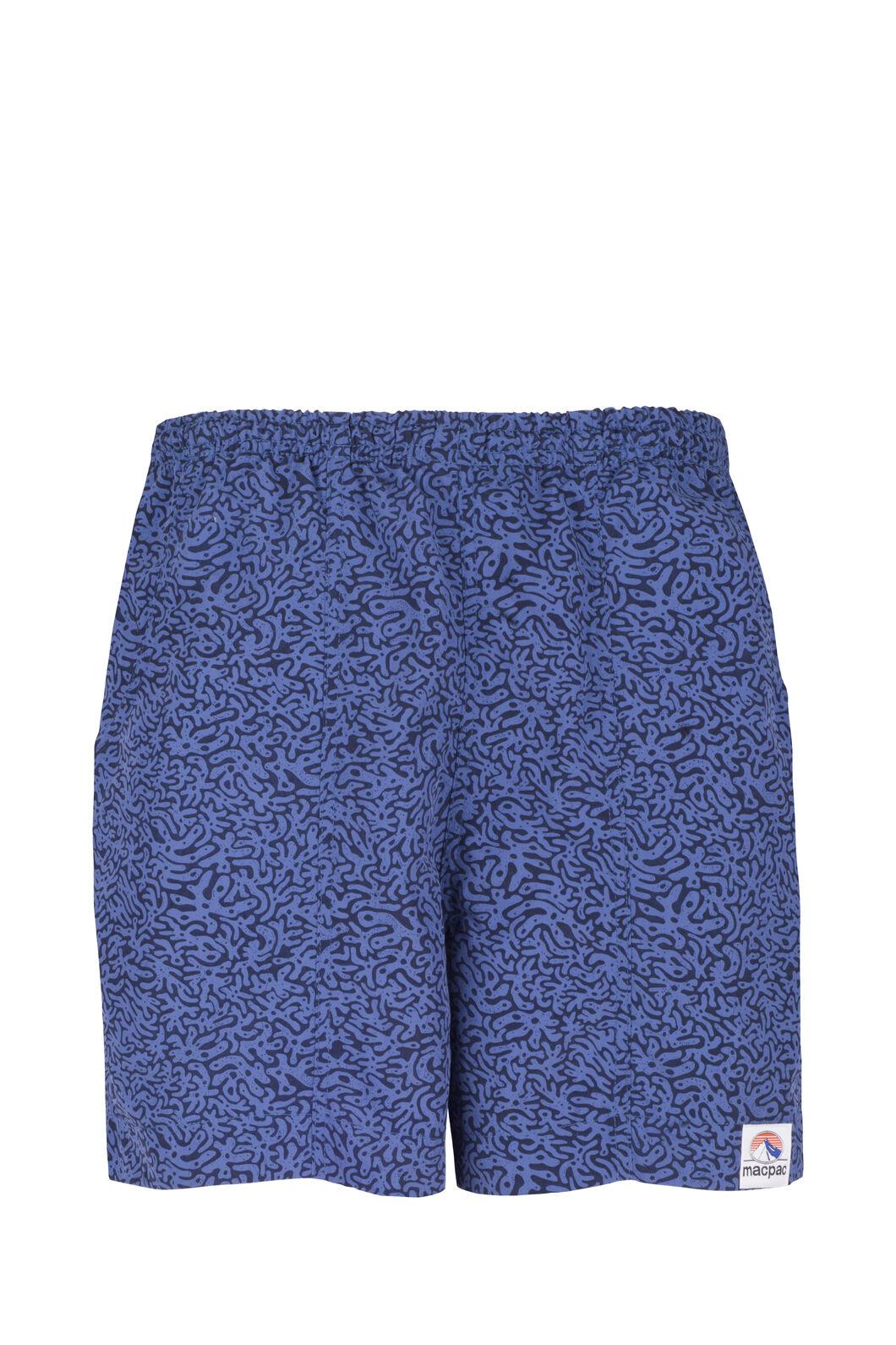 Macpac Winger Shorts - Men's, Mood Indigo Print, hi-res