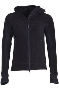 Mountain Hooded Pontetorto® Fleece Jacket - Women's, Black/Black, hi-res