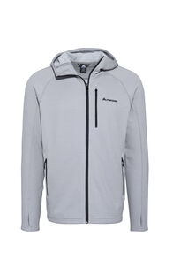 Macpac Ion Polartec® Fleece Hooded Jacket — Men's, Alloy, hi-res