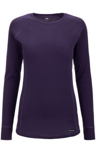 Macpac Geothermal Long Sleeve Top — Women's, Nightshade, hi-res
