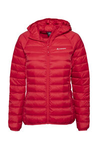 Macpac Uber Light Hooded Down Jacket — Women's, Lollipop, hi-res
