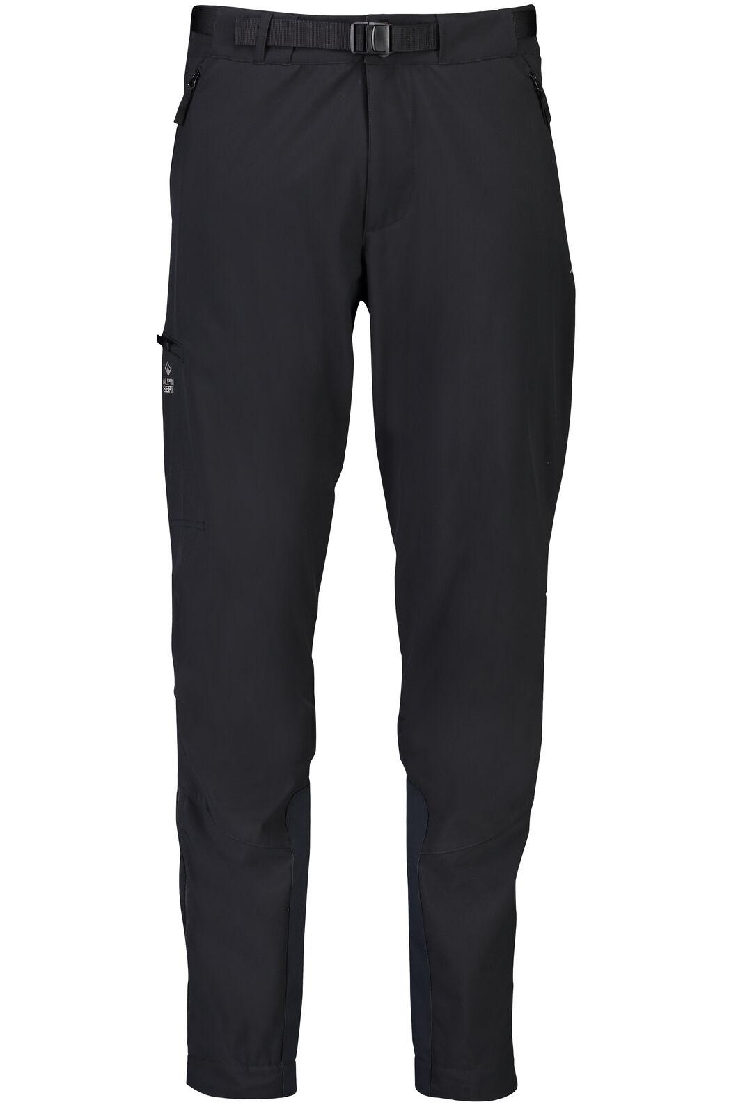 Fitzroy Alpine Series Softshell Pants - Men's, Black, hi-res