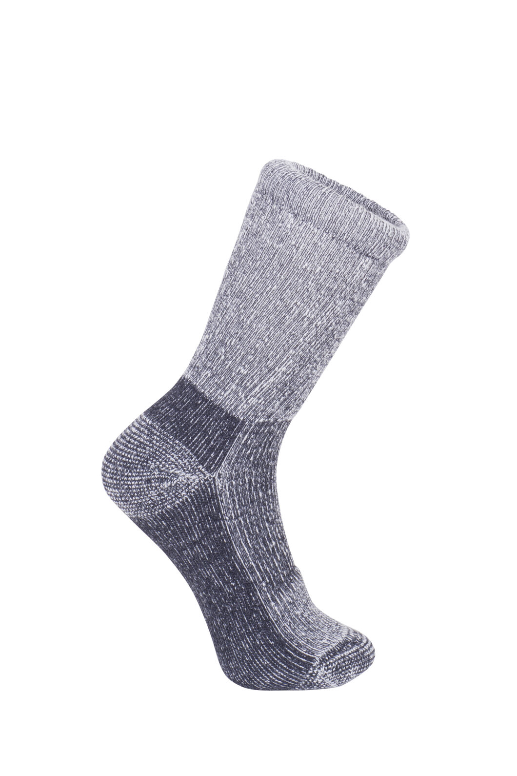Macpac Winter Hiker Socks - Kids', Black, hi-res