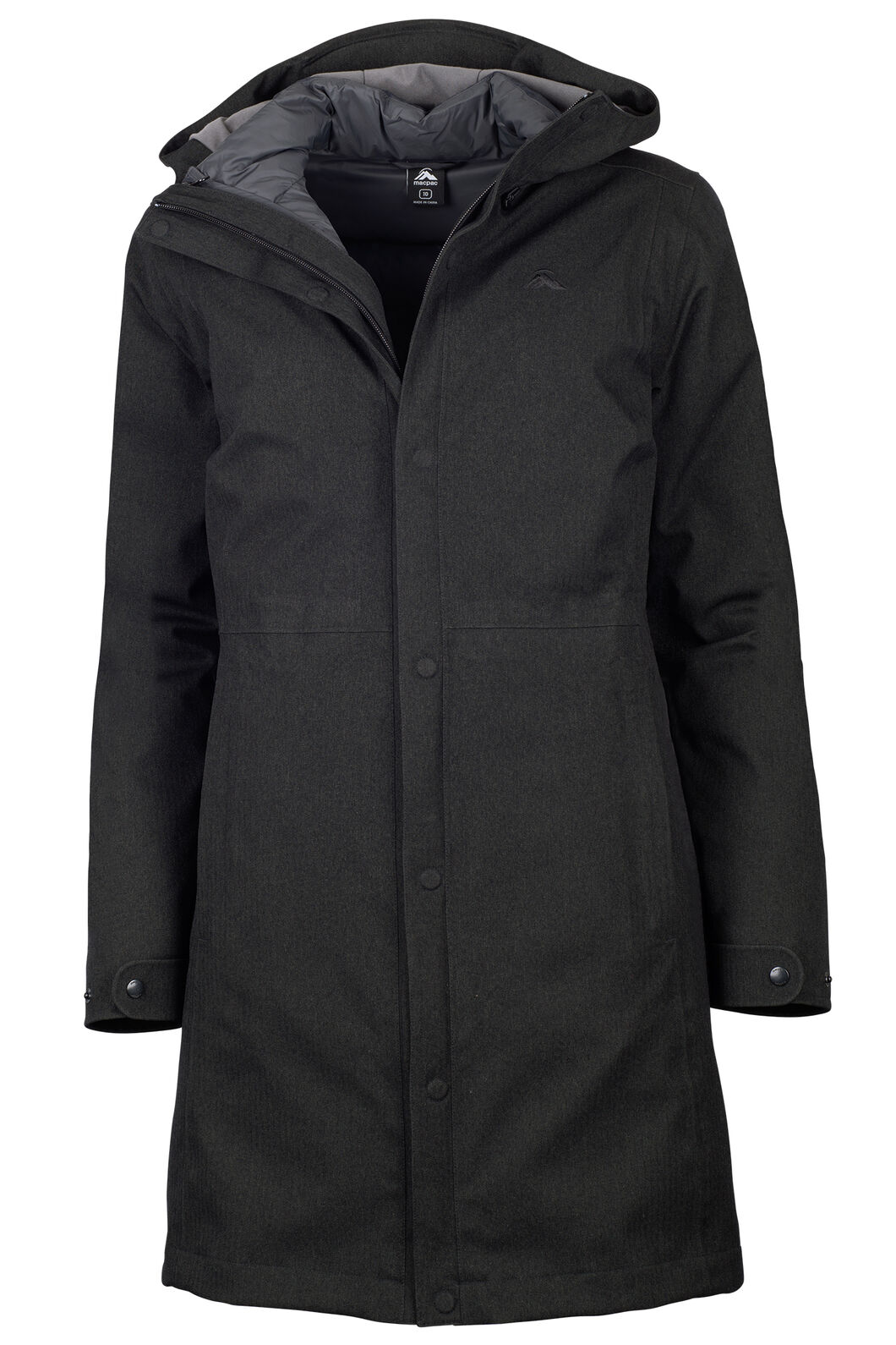 Macpac Element Three-In-One Coat - Women's, Black, hi-res