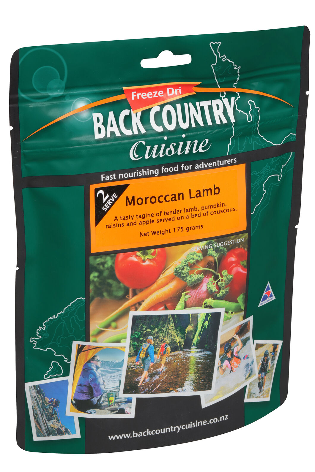 Back Country Moroccan Lamb - 2 Serves, None, hi-res