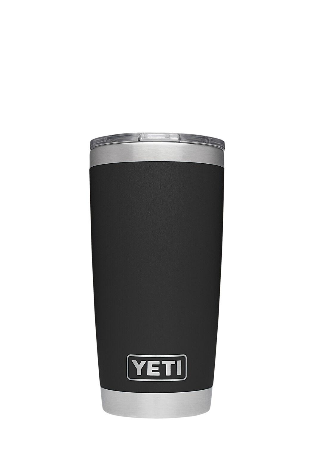 YETI® Rambler Tumbler — 20oz, Black, hi-res