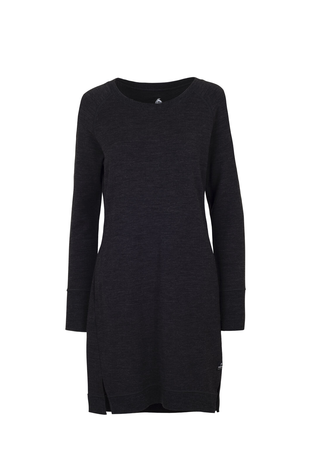 Macpac Platform Merino Dress — Women's, Charcoal Marle, hi-res