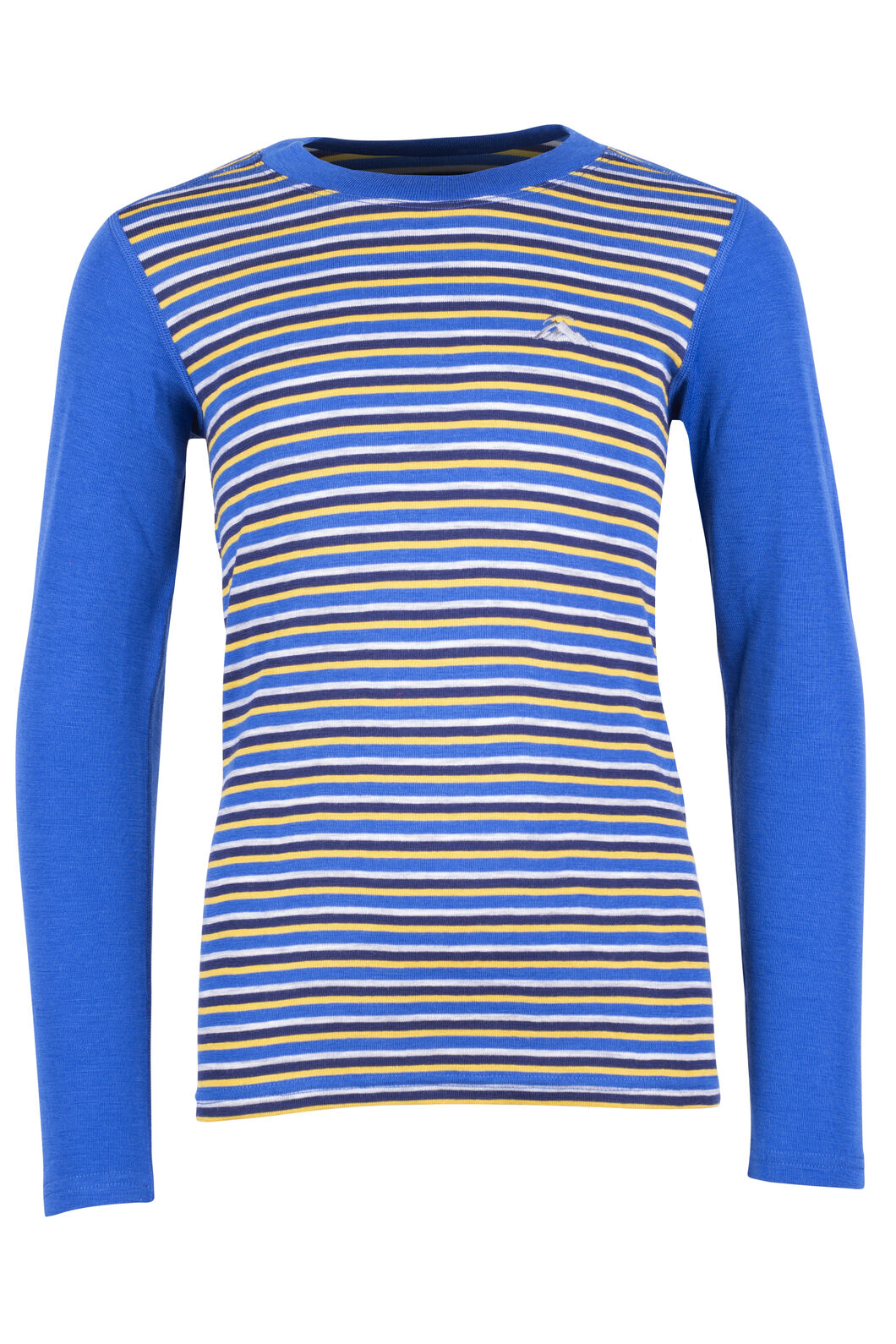 220 Merino Long Sleeve Top - Kids', Olympian Stripe, hi-res