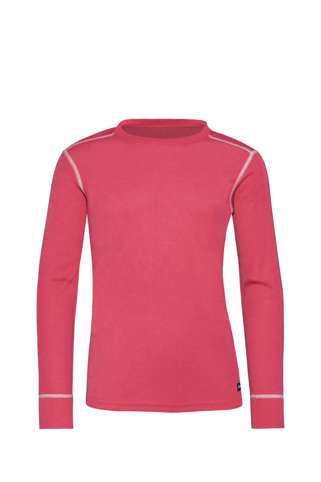 Macpac Geothermal Long Sleeve Top - Kids', Rouge Red, hi-res
