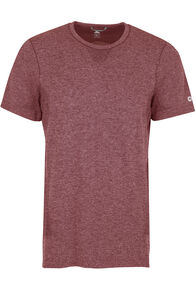Macpac Limitless Short Sleeve Tee - Men's, Sundried Tomato, hi-res